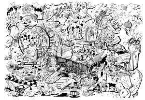 Illustration freaks 1