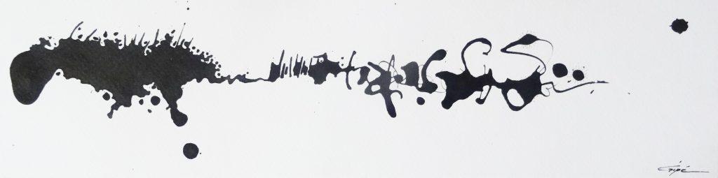 Délire calligraphique 4